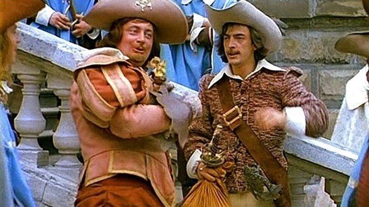 Д`Артаньян и три мушкетера 3 серии (Георгий Юнгвальд-Хилькевич) фильм 1978, музыкальный фильм, приключения, экранизация HD 1080*