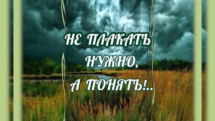 Не плакать нужно, а понять ... Христианские стихи « Я нашёл, что искал …» #ЕвгенийКрыгин