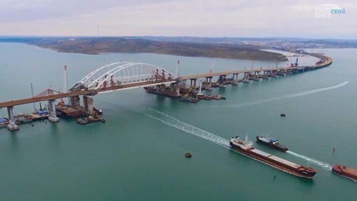 Исторический момент в строительстве Крымского моста - завершен монтаж пролетов автодорожной части