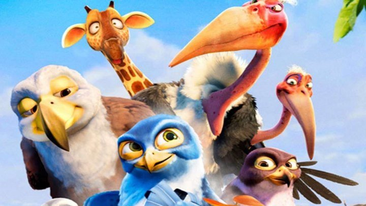 Мульт Замбезия HD(2012) 1080p.Комедия,Приключения,Семейный