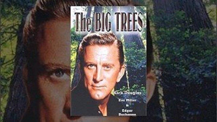 Большие деревья ⁄ 1952 ⁄ Кирк Дуглас Ив Миллер вестерн романтическая драма,