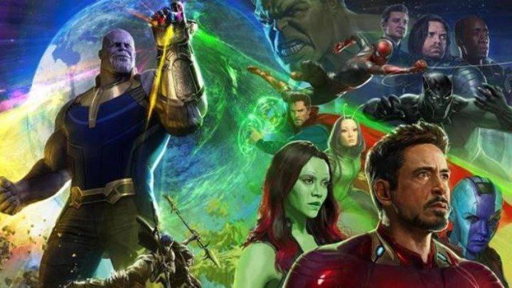 Мстители Война бесконечности – официальный трейлер