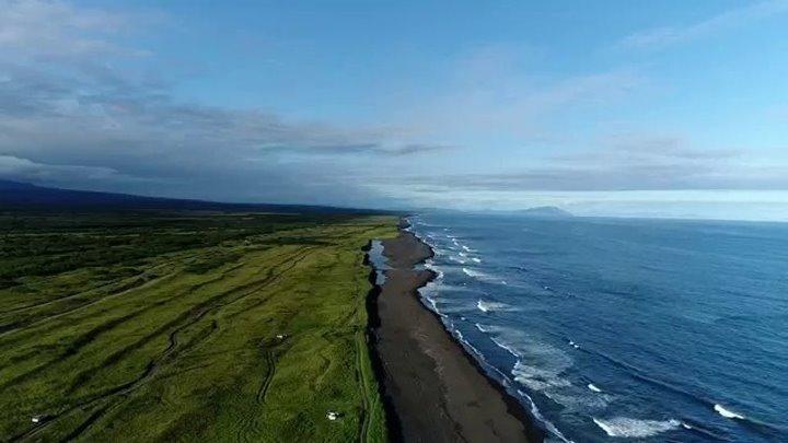 Kamchatka from drone DJI _ Камчатка с высоты