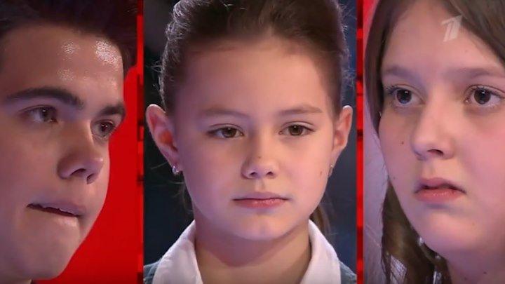 На мой взгляд, одно из самых лучших групповых выступлений на Голос Дети (Голос Дети 2)