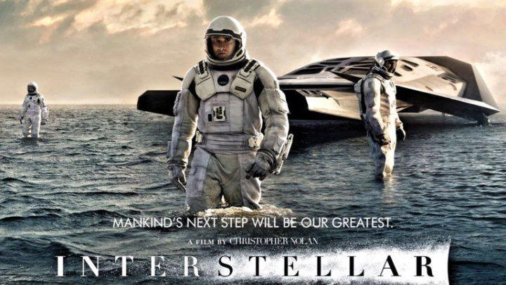 Интерстеллар (2014).HD(фантастика, драма, приключения)