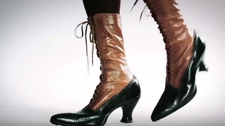За 100 лет, как менялись моды каблуков!