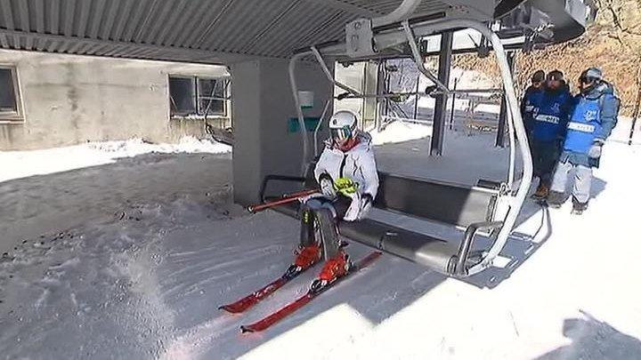 Допущенные к Играм в Пхенчхане спортсмены РФ приступили к тренировкам