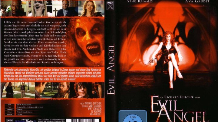 Ангел зла HD(2009) 72Op.Ужасы,Tриллер