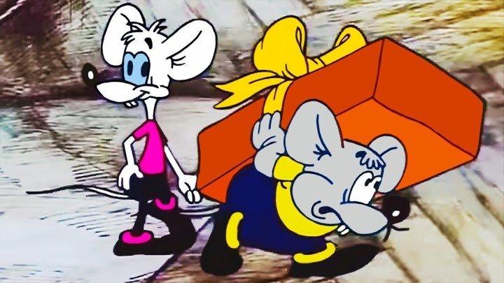 День рождения кота Леопольда (1982). Советский мультфильм Золотая коллекция