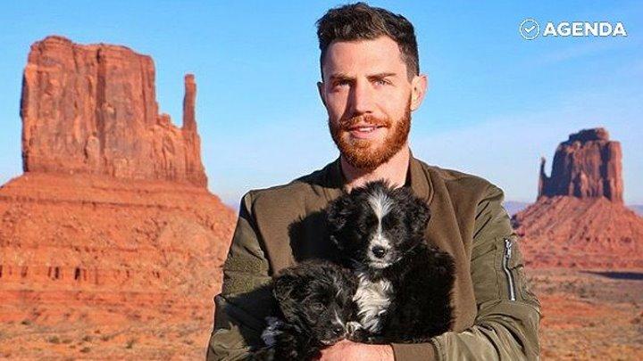 Парень спас щенков