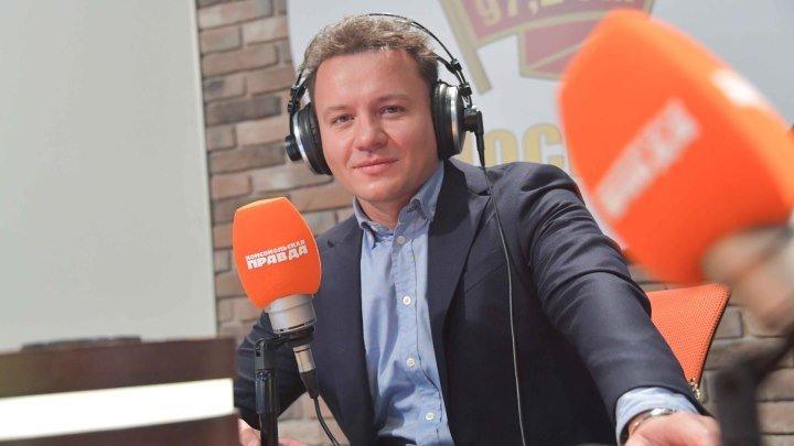 В гостях у радио Комсомольская правда актер и телеведущий Александр Олешко