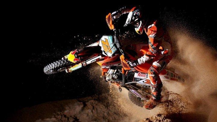 Matt Bisceglia - практика по мотокроссу