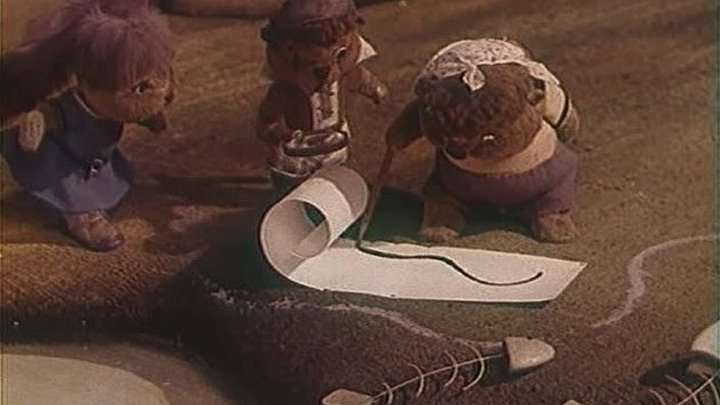 Бобры идут по следу Мультфильм, 1970
