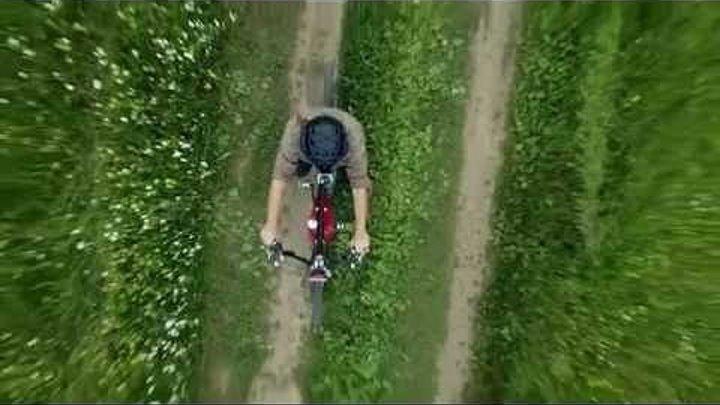 Тест-драйв велосипеда с мотором