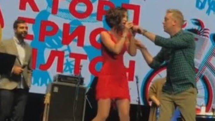 Сергей Светлаков опозорил Ольгу Бузову на сцене