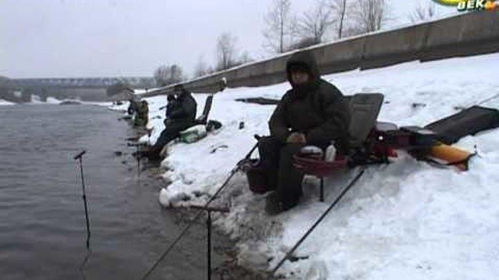Рыболов - эксперт. Зимний фидер - ловля мирной рыбы.