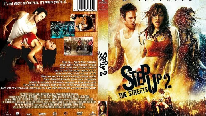 Шаг вперед 2 \\Улицы HD( 2008) 1O8Op.Мелодрама,Драма,Музыка,Уличные танцы