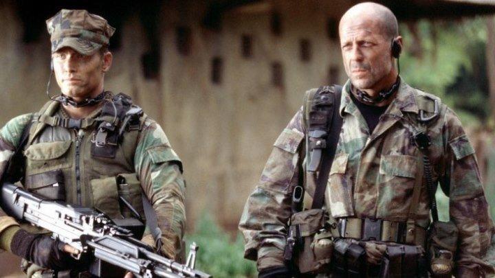 """Фильм """"Слезы солнца """" боевик, триллер, военный 2003"""