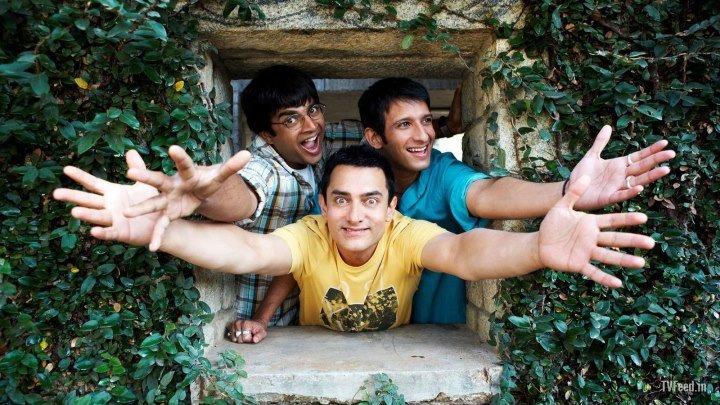 Три идиота 2009 Индия мелодрама, комедия, приключения