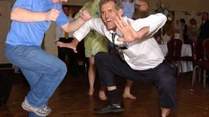 Подборка смешных танцев! Прикольное видео!