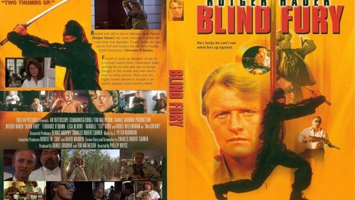 Слепая ярость HD(1989) 1O8Op.Боевик,Триллер,Криминал_США