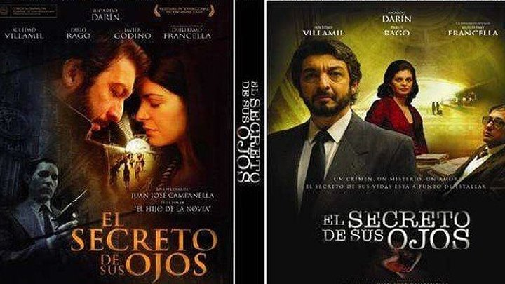 Тайна в его глазах HD(2009) 1O8Op.Драма,Мелодрама,Детектив_Испания,Аргентина