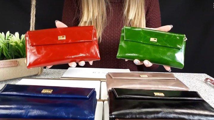 Какой выбрать кошелёк? Смотрите обзор красивых моделей из нат. кожи