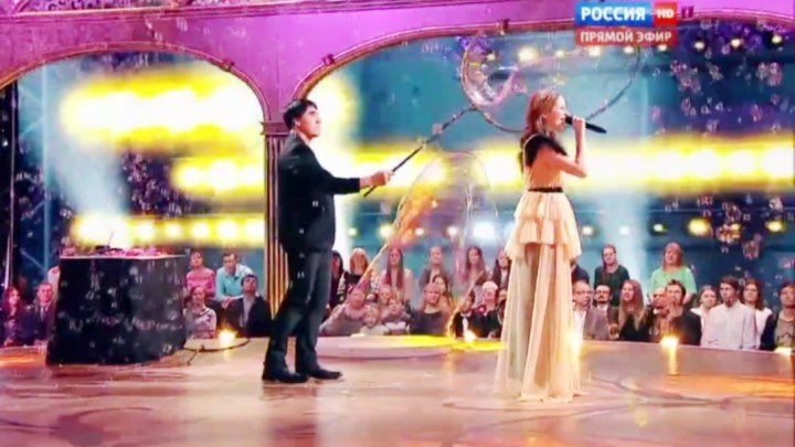Виктория Оганисян финалистка конкурса «Синяя птица» на канале Россия-1.