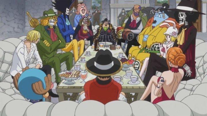 Ван Пис/One Piece 828 Эпизод Смертельный договор , объединенные силы Луфи и Бэга (Без рекламы)