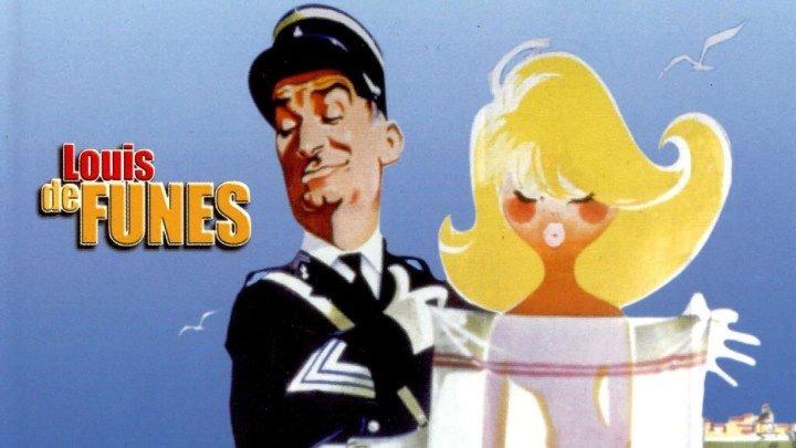 """""""Жандарм из Сен-Тропе"""" _ (1964) Комедия, криминал. (720p.)"""
