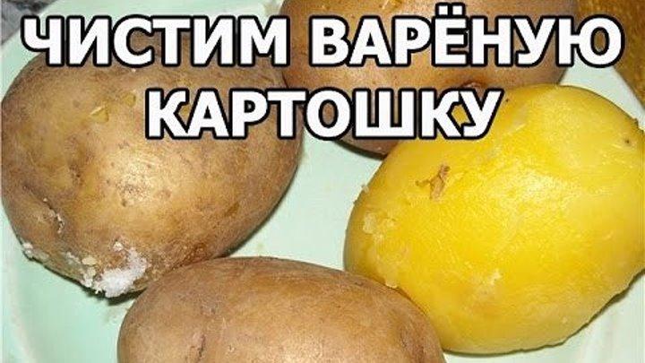 Как быстро чистить варёную картошку. Совет от Ивана!