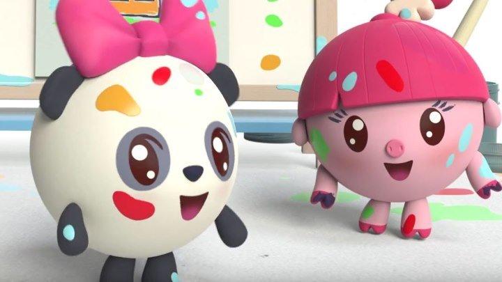 Малышарики - Мозаика (26 серия) ¦ Обучающие развивающие мультфильмы для малышей 0-4 лет
