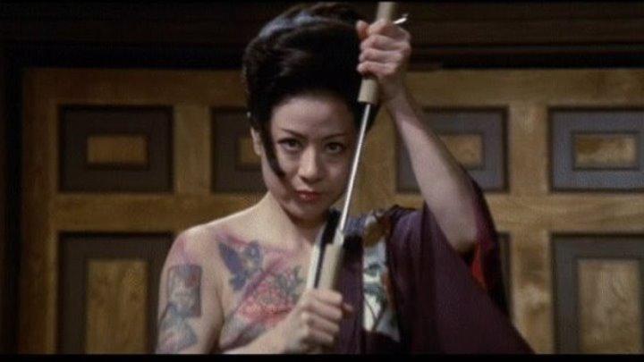 История женщины-якудза (Япония 1973) 16+ Криминальная драма, Боевик, Триллер