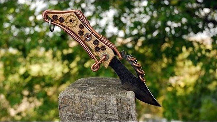 Стимпанк нож