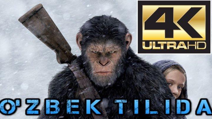 Maymunlar Sayyorasi Urush 4K _ Маймунлар Сайораси Уруш 4K (O'zbek Tilida) ULTRAHD N