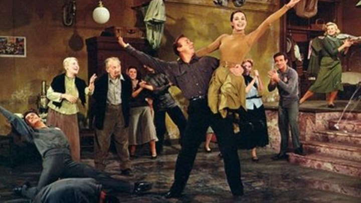 Red Blues from Silk Stockings 1957 (Cyd Charisse)