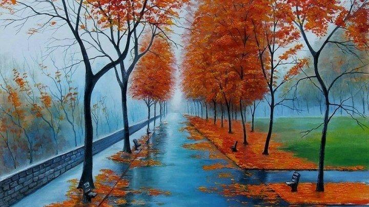 Шалунья осень! Красивая песня!