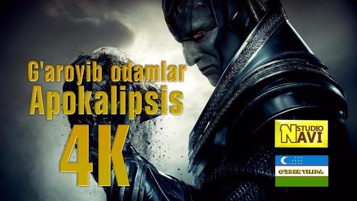 G'aroyib odamlar Apokalipsis 4K (o'zbek tilida) ULTRAHD NAVI