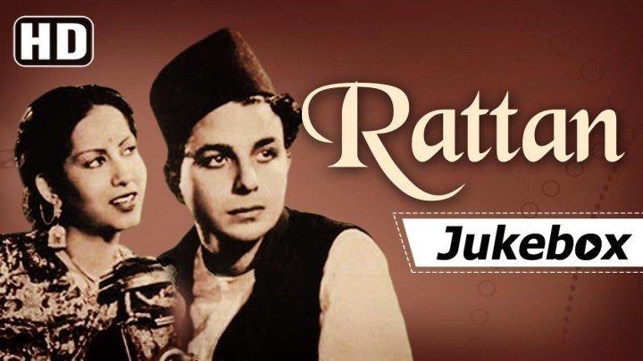 """""""Ratan"""" [1944] Swaran Lata - Karan Dewan Naushad Hits Black White Hits [HD]"""