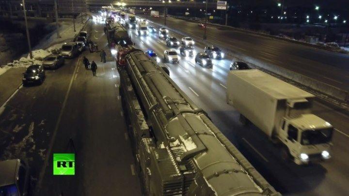 Пусковые установки «Ярс» направляются в Алабино для подготовки к параду Победы