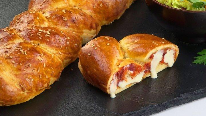 Пицца-Косичка: Простой Рецепт Сытного И Оригинального Пирога