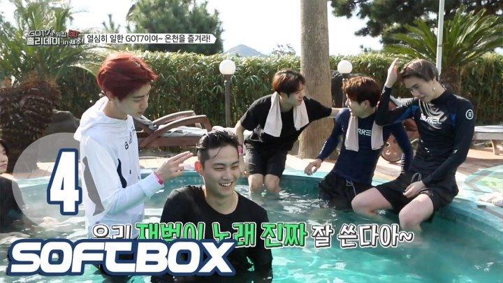 [Озвучка SOFTBOX] Рабочие каникулы GOT7 на Чеджу 04 эпизод