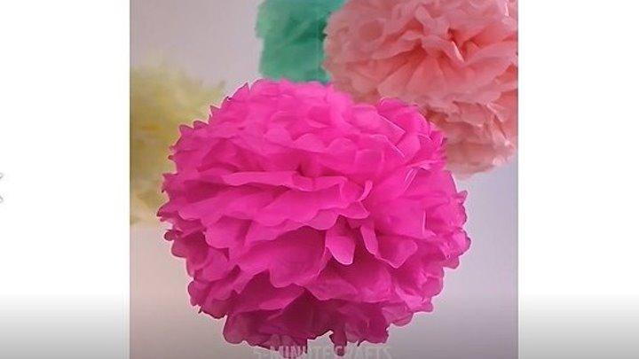 15 милых поделок из цветов