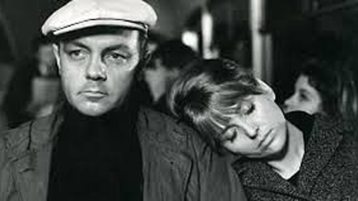 """""""Долгая счастливая жизнь"""" (1966) Инна Гулая, Кирилл Лавров."""