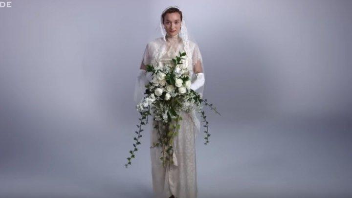 Как менялась мода свадебного платья за последние 100 лет?