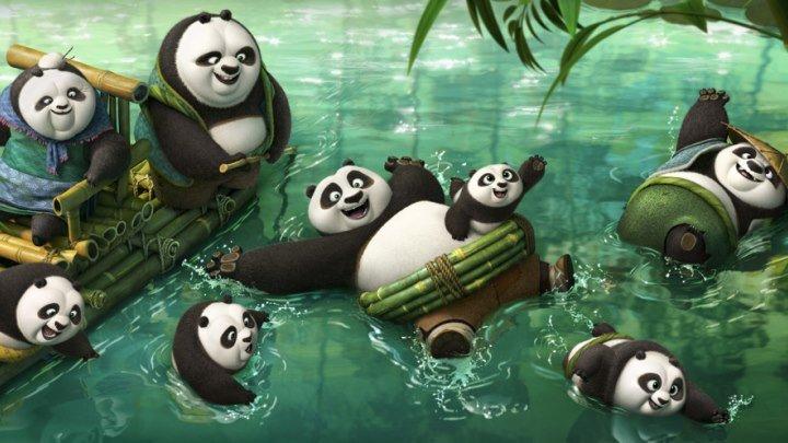 Кунг-фу Панда 3. мультфильмы приключения семейный