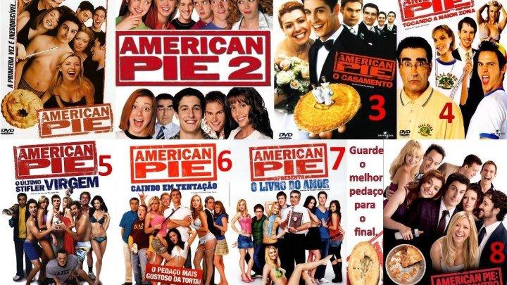 лучшие комедии _ А.м.е.р.и.к.а.н.с.к.и.й П.и.р.о.г! (Все фильмы)