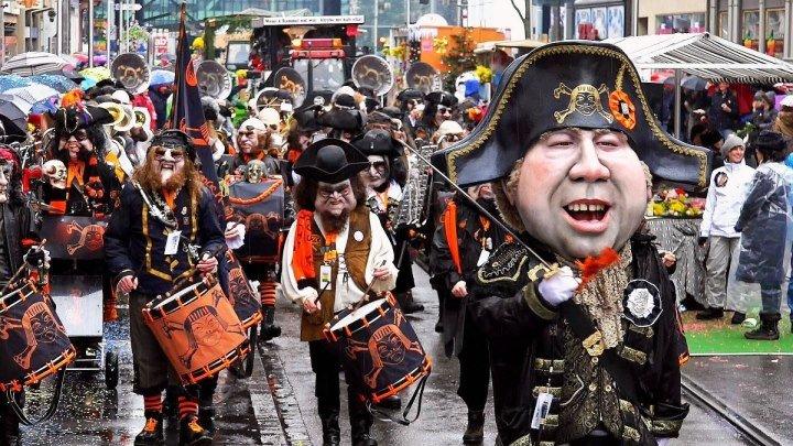 Буйство масок и красок - карнавал в Швейцарии #FominaSwiss