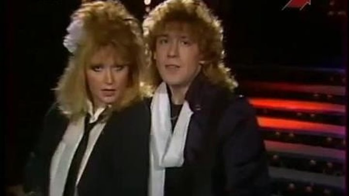Алла Пугачева и Владимир Кузьмин — Две звезды (Песня-86) 01.01.1987