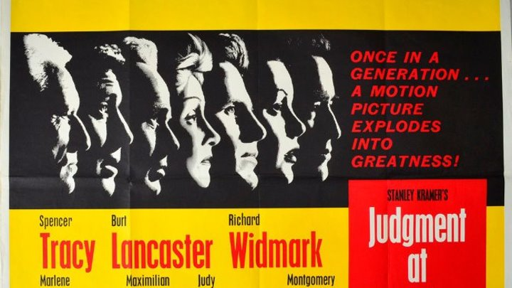 Judgment at Nuremberg (1961) Spencer Tracy ,Montgomery Clift,